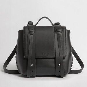 Fin Mini Leather Backpack